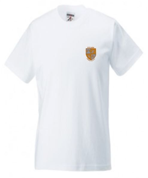 PITCAIRN PRIMARY SCHOOL GYM T-SHIRT