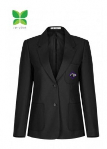 JAMES YOUNG HIGH SCHOOL S1-S4 GIRLS BLAZER (WITHOUT BRAID)
