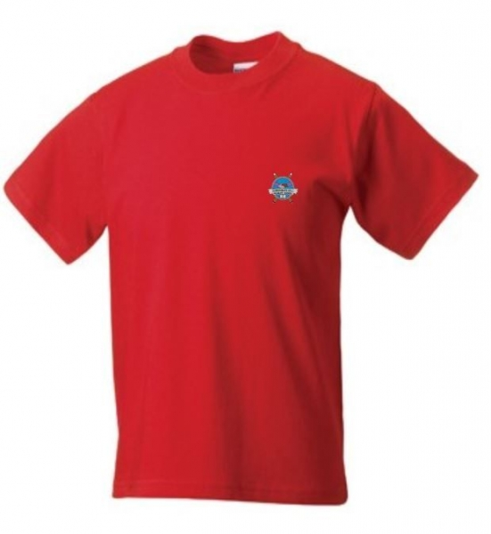 HARROWGATE HILL PRIMARY TSHIRT - RED