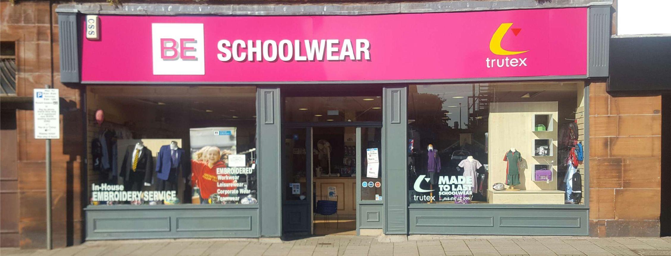 BE Schoolwear Ayr