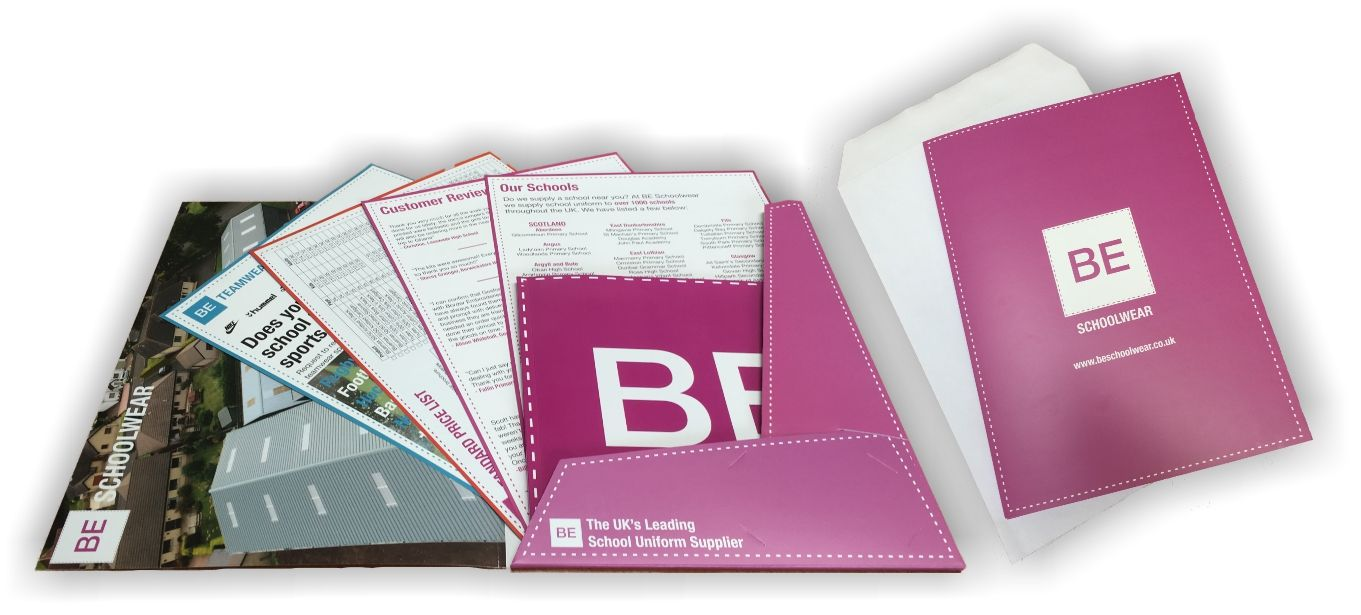 BE Schoolwear Information Pack