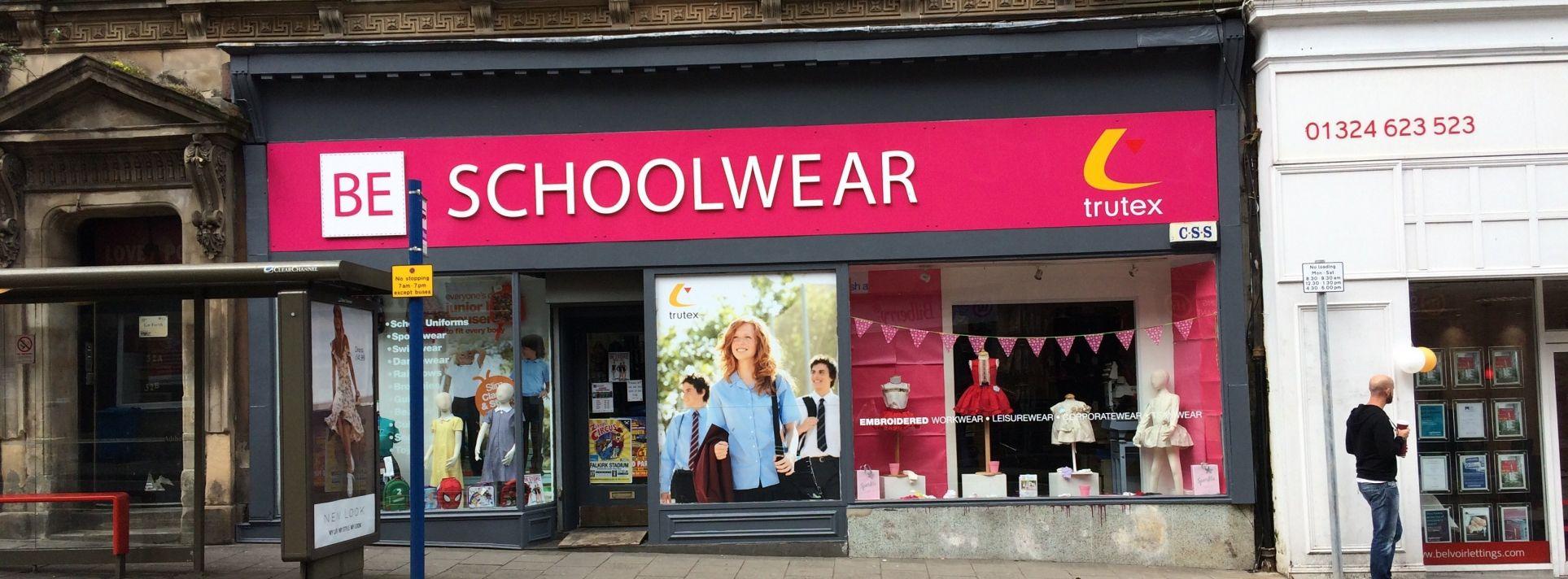 BE Schoolwear Falkirk