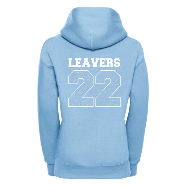 Leavers Hoodie Back Design 1