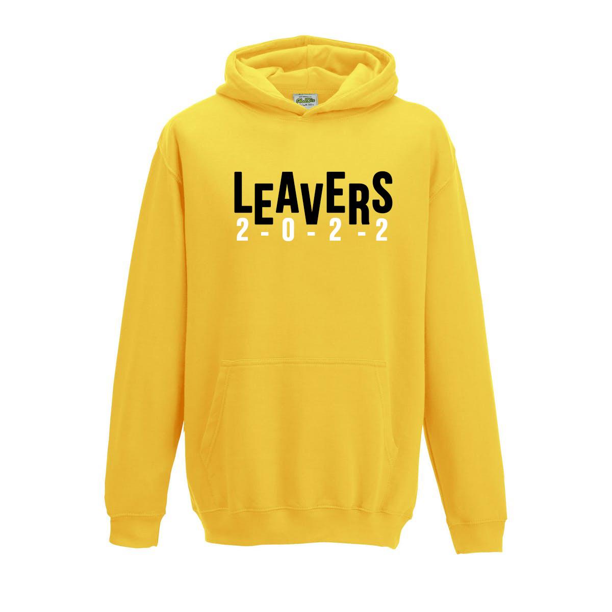 Leavers Hoodie Front Design 3