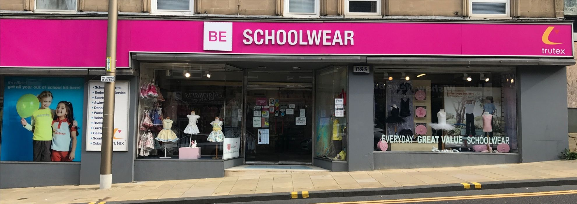 BE Schoolwear Wishaw